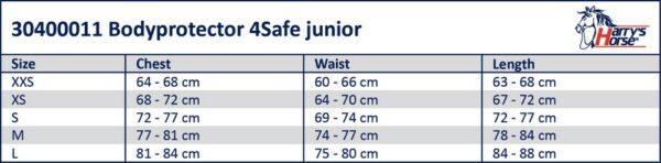 HH 4Save Bodyprotector Junior